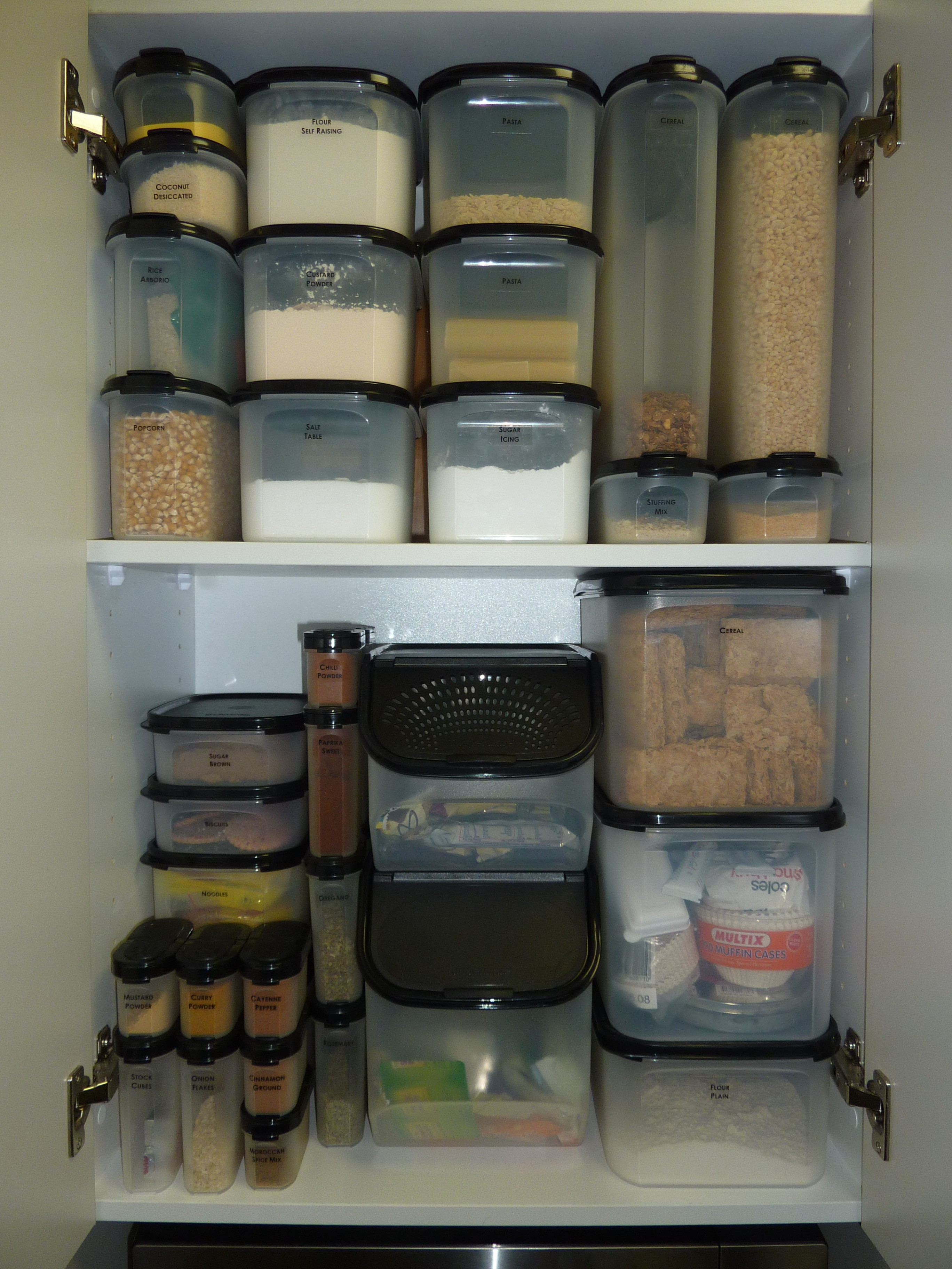 Theorganisedprincess declutter your castle for Decor containers coles